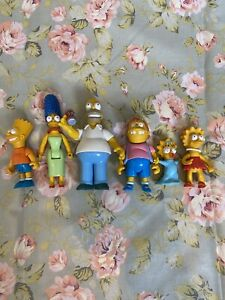 Vintage Simpsons Playmates Action Figures