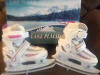 New!!! Lake Placid Girls Ice Skates