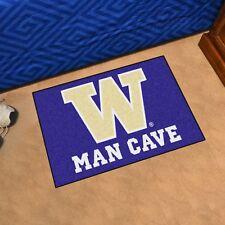 "Washington Huskies Man Cave 19"" X 30"" Starter Area Rug Mat"