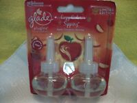 Glade Cozy Cider Sipping Plugins Scented Oil Refills LIMITED Edition 2ct.