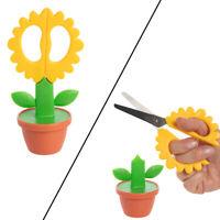 Blooming Flower Pot Scissors Arts Craft Fabric Home Office Supplies Kids Adults