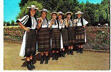 Romania 1960s Girl Dancers in Folk Costume of Tarnava Valley/Transylvania KRUGER