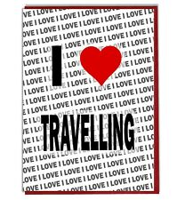Greeting Card - Birthday Card - I Love Travelling
