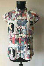 CITRON Santa Monica Damen  Bluse Top Hemd gr.M 100 % seide