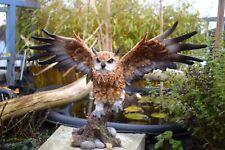 Eule, Uhu,  Kautz, Gartenfigur Greifvogel Skulptur Dekofigur,Tierfigur,