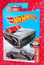 2016 Hot Wheels Hot Trucks  '67 Chevy C10  #143  DHX92-D9B0N  ZAMAC