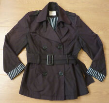 YAZZ Exclusive Ladies Trench Coat Double Breast Jacket Size 12