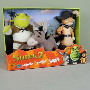 Shrek 2 three characters' collectable Plush