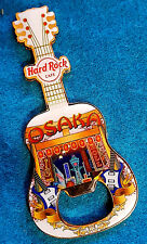 OSAKA JAPANESE CITY ENTRANCE GATES NEON SIGN BOTTLE OPENER GUITAR Hard Rock Cafe