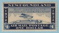 NEWFOUNDLAND 1932 WAYZATA AIRMAIL MINT NEVER  HINGED OG ** NO FAULTS EXTRA FINE!