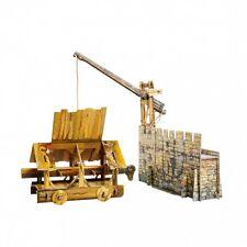 Siege ram Middle Ages  16 х 9 х 8 cm cardboard model kit War Games