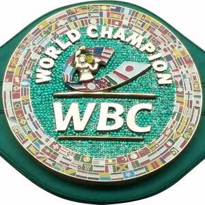 WBC EMERALD Championship Boxing Belt Genuine Leather & PU Leather Replica Adult