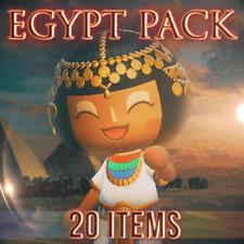 EGYPT SET⚱️Pyramid Sphinx Pharaoh Furniture Item Animal Crossing New Horizons
