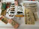 HEDDON LOT FISHING LURES CATALOG BOXES PUNKINSEED PUNKIN SPIN STINGAREE TADPOLLY