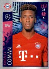 Champions League 19 20 2019 2020 Sticker 96 - Kingsley Coman - FC Bayern München