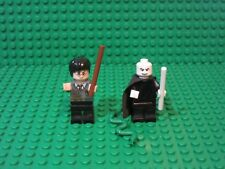 Lot 2 Lego Minifigures HARRY POTTER and LORD VOLDEMORT + NAGINI 4865