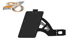 Harley Davidson sportster 1200 support de plaque d'immatriculation sur le côté à partir de Bj 88 + éclairage