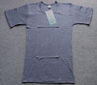 walbusch 4er-Pack Herren Unterhemden kurzer Arm Weiß Bio-Baumwolle Gr.7 NEU OVP