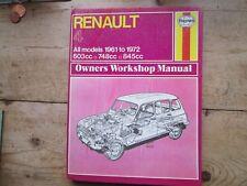 RENAULT 4 HAYNES 1961 - 1972 OWNERS WORKSHOP MANUAL