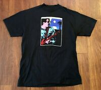 Carlos Santana Vintage Havana Moon Tour 1983 T-Shirt Adult L Large Single Stitch