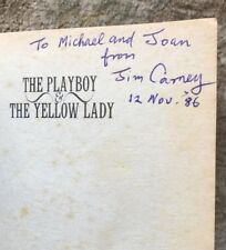The Playboy and the Yellow Lady by James Carney SIGNED 1996 PAPERBACK