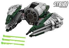 LEGO STAR WARS DE YODA JEDI STARFGHTER Réf 75168 AUCUNE MINIFIGURINES 100X100