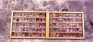 Table Top Card Display Case / Trade Show Case / Full Portable Table Top