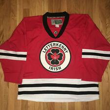 Letterkenny Irish TV series Hockey Jersey size 54 X-Large $3.00 Ship to Canada