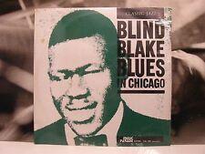 BLIND BLAKE - BLUES IN CHICAGO LP SIGILLATO SEALED 1973 MUSIC PARADE LEL 212
