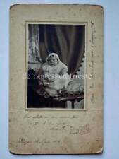 PALL MALL BENDIGO Australia 1918 hidden mother foto cartonata old photo
