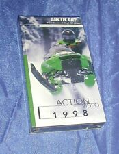 """Arctic Cat """"What Snowmobiling's All About"""" Snowmobile Action VHS Video - 1998"""