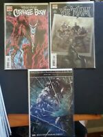 Web Of Venom: Carnage Born #1, Venom Unleashed #1, Ve'Nam #1 (Marvel Comics) NM