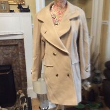 Classic Woman Beige Pure Wool Jacket Size 10 Bnwt     Hols