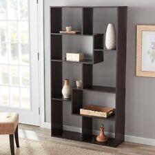 LARGE TALL 8 Cube Bookshelf Modern Chubby Shelf Display Bookcase NEW Mainstays