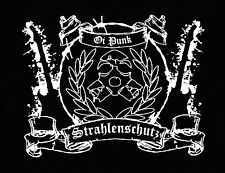 STRAHLENSCHUTZ Patch / Aufnäher NEU 1,20€ Punk Punkrock Oi! SKINHEAD Biertoifel