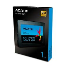 """ADATA 1TB SSD SU750 2.5"""" SATA III 3D NAND TLC Internal Solid State Drive NEW"""