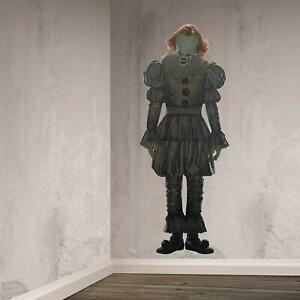 165cm Official IT Pennywise Horror Scary Clown Party Scene Setter Decoration