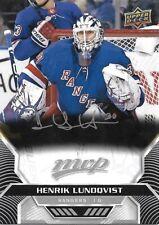 Henrik Lundqvist #70 - 2020-21 MVP - Base Silver Script