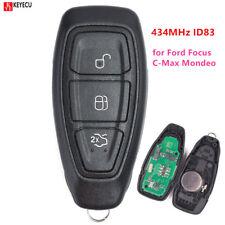 Intelligent Remote Key 434MHz ID83 for Ford Focus C-Max Mondeo Galaxy S-Max Kuga