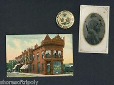 19th C. COFFEYVILLE KANSAS BANK ROBBERY DALTON ~ ORIGINAL TINTYPE PHOTO ~PIN ~