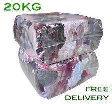 20Kg Bag of Rags Flannel Flannelette material - Excellent value for money