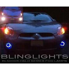 2006 2007 2008 Mitsubishi Eclipse Halo Fog Lamp Blue Angel Eye Driving Lights