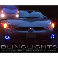 2006 2007 2008 Mitsubishi Eclipse Halo Fog Lamp Blue Angel Eye Driving Lights