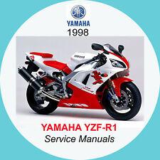 buy yamaha yzf r1 motorcycle service repair manuals ebay