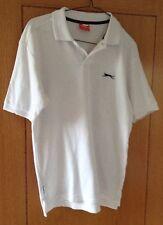 Slazenger White Polo Shirt Unisex Size S