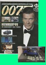 James Bond 007, Renault 11-Im Angesicht des Todes+ Begleitheft Nr.53
