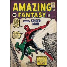 RoomMates Spiderman Peel and Stick Comic Book Cover Wall Decor