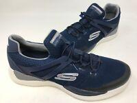 NEW! Skechers Men's MATRIXX KINGDON Slip On Shoes Blue/White #52664 180R sz