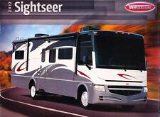 2012 Winnebago Sightseer Motorhome Camper Original Car Sales Brochure Catalog