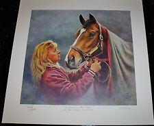 "LIMITED EDITION PRINT (153/1150) ""CANDLE IN THE WIND"" BY FRED STONE"